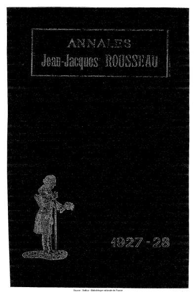 File:Annales de la société Jean-Jacques Rousseau, tome 18.djvu