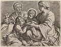Annibale Carracci, Madonna and Child with Saints Elizabeth and John the Baptist (La Madonna della Scodella), 1606, NGA 56229.jpg