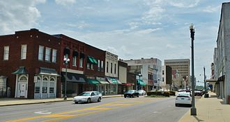 Anniston, Alabama - Downtown Anniston in 2012