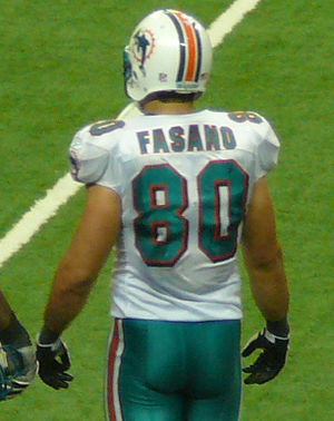 Anthony Fasano - Fasano with the Dolphins in 2009.