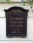 Anthony Trollope (1815-1882) novelist lived here.jpg