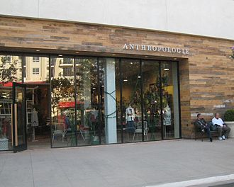 Anthropologie - Anthropologie store in Glendale, California.