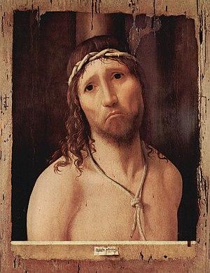 Ecce Homo (Antonello da Messina) - Image: Antonello da Messina 004