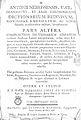 Antonii Nebrissensis... Dictionarium 1754 Nebrija 882.jpg