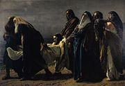 Antonio Ciseri - Il trasporto di Cristo al sepolcro
