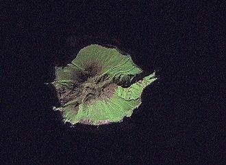 Antsiferov Island - NASA picture of Antsiferov from space