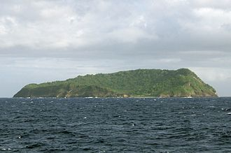 Apolima - Apolima seen from the Upolu-Savai'i ferry