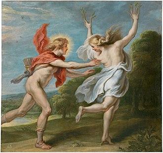Theodoor van Thulden - Image: Apollo pursuing the nymph Daphne, by Theodoor van Thulden