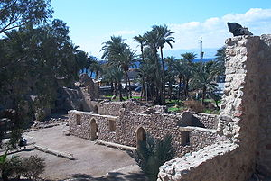 Aqaba Fortress - View of fort
