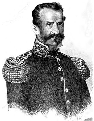 Nazario Benavídez - Gregorio Aráoz de Lamadrid, a leader of the Unitarian forces