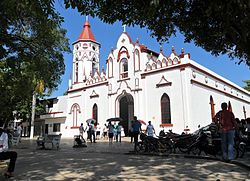 Aracataca's church where Garcia Marquez was baptized.JPG