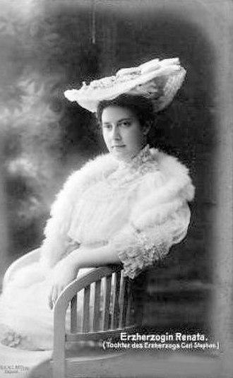 Archduchess Renata of Austria - Image: Archduchess Renata