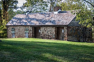 National Register of Historic Places listings in Loudoun County, Virginia - Image: Arcola Slave Quarters 0609