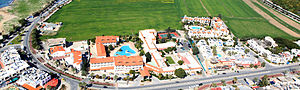 Areal Photo of Neapolis University Paphos, Cyprus