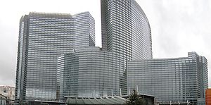 Aria Resort and Casino - Construction as completed in 2009