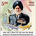 Arjan Singh 2019 stamp of India.jpg