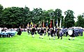 Armed Forces Day Parade - Northern Constabulary Pipe Band Drum Corps - Northern Meeting Park - Inverness Scotland (4843880874).jpg