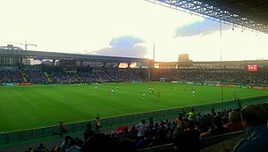 Armenia national football team - Armenia vs Portugal during a UEFA Euro 2016 qualifying match at the Republican Stadium in Yerevan