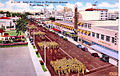 Army Air Forces - Postcard - Miami Beach Training Center - Marching on Washington Avenue.jpg
