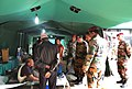 Army Force Commander interacting with patients, at Sinamangal, in Nepal on May 14, 2015.jpg