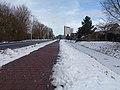 Arnhem-De Laar, straatzicht de Randweg met de sneeuw foto5 2017-01-15 13.34.jpg