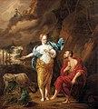 Arnold Houbraken - Jupiter, Juno and Io.jpg