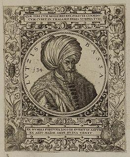 Lütfi Pasha Grand Vizier of the Ottoman Empire