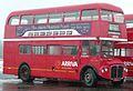 Arriva Heritage Fleet Routemaster coach RMC1453 (453 CLT), 2008 Cobham bus rally (2).jpg