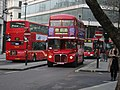 Arriva London Routemaster bus RML2752 (SMK 752F), Cockspur Street, route 159, 9 December 2005 uncropped.jpg