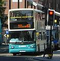 Arriva Merseyside bus Volvo B7TL Alexander Dennis ALX400, Liverpool, 28 June 2011.jpg