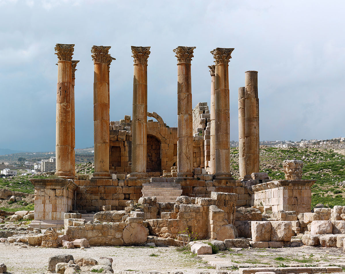 Temple of Artemis, Jerash - Wikipedia