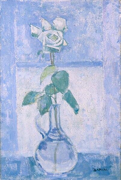 File:Artgate Fondazione Cariplo - Casorati Maugham Daphne, Rosa bianca.jpg