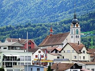 Arth - Image: Arth Kirche