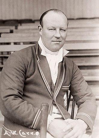 Arthur Carr (cricketer) - Image: Arthur Carr c 1925