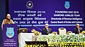 Arun Jaitley addressing the gathering on the occasion of the Diamond Jubilee Year & Founding Day 2016 of the Directorate of Revenue Intelligence, Central Board of Excise and Custom (CBEC), in New Delhi.jpg