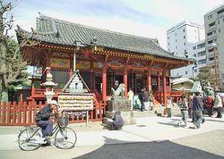 Templos religiosos t�picos fazem parte da cidade desde seus prim�rdios.