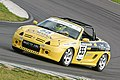Ash Shuttlewood driving an TGR Motorsport MG TF 190 in 2009.jpg