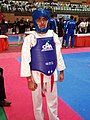 Asif before the final Fight at WorldMAC Games 2016.jpg