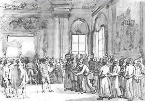 Russo-Persian War (1804–13) - Askar Khan Afshar received by Napoleon I at Saint Cloud 4 September 1808 by Benjamin Zix