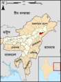 Assam Charaideo locator map Assamese.png