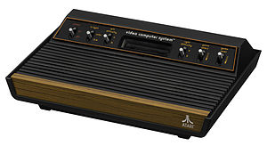 "Atari 2600 - The second 2600 model is the ""Light Sixer"", which has lighter plastic molding and shielding, and a more angular shape, than the 1977 launch model, the ""Heavy Sixer""."