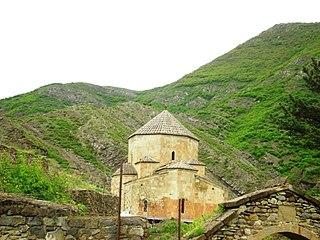 Ateni Sioni Church medieval church near Gori, Georgia