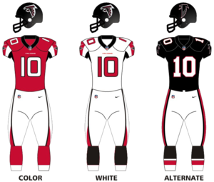2017 Atlanta Falcons season - Image: Atlanta falcons unif 16