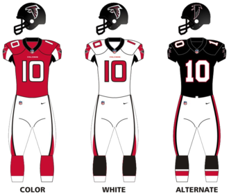 2016 Atlanta Falcons season - Image: Atlanta falcons unif 16