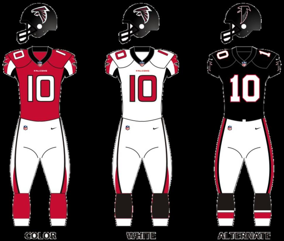Atlanta falcons unif 16