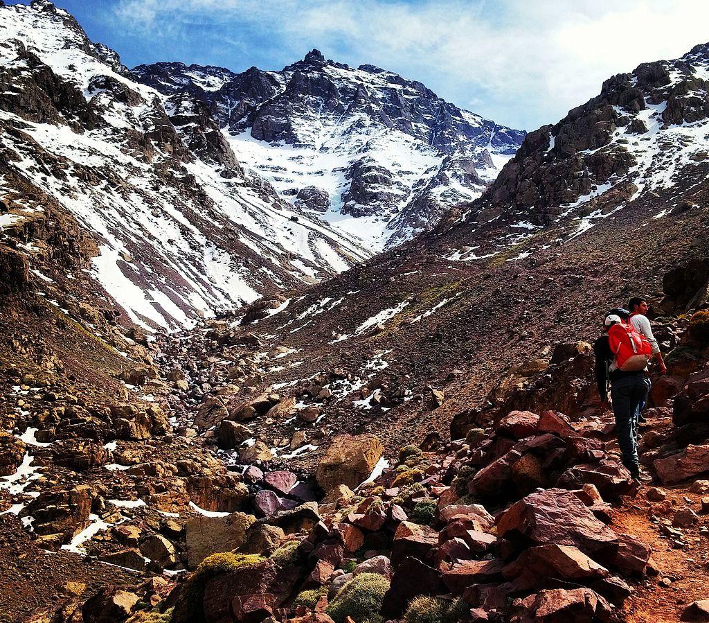 Monte Toubkal, escursione, percorso escursionistico, viaggi a piedi