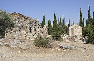 Kaisariani - Church ruins on the Kaisariani hill