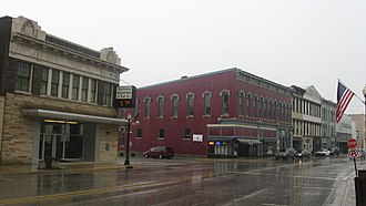 National Register of Historic Places listings in Fountain County, Indiana - Image: Attica Downtown Historic District