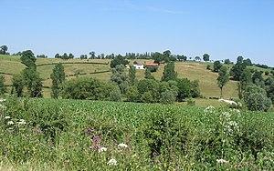 Pays de Herve - A typical landscape in the Pays de Herve