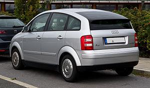 Audi A2 - Audi A2 1.2 TDI rear view